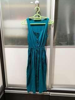 Women sleeveless maxi dress