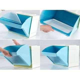 Stackable Plastic box on clearance