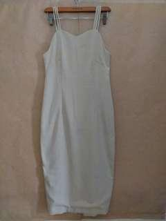 Dress Inner Panjang Cream
