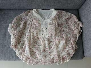 #Blessing: Floral Blouse / Top #single11