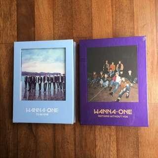 [Clearance] Wanna One Sealed Albums with Free Posters