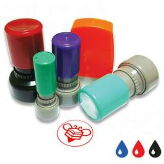 Custom your own self inked rubber stamp!