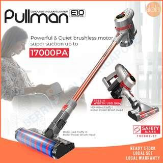 ✔FREE DELIVERY:PULLMAN Oktopus E10 Cordless Vacuum Cleaner Handheld Stick is exclusively distributed by Berrylalola Singapore