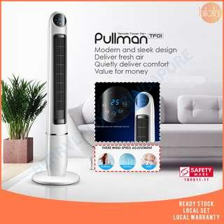 PULLMAN TF01 - ELECTRIC FAN FLOOR FAN LEAFLESS REMOTE CONTROL TOWER FAN