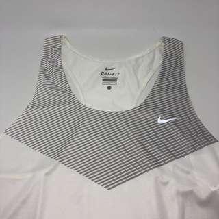 Nike White Tanktop