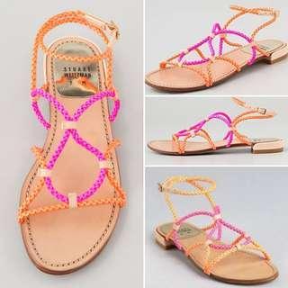 Stuart Weitzman braided sandals (size 8)
