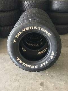 4x4 tayar at silverstone 245/70/16