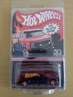 Hot wheels custom gmc panel van mail in