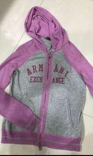 Armani exchange jacket zip