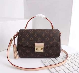 e90a0a4fd759 Louis Vuitton Croisette LV Authentic Quality
