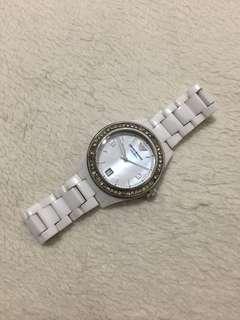 大降價 Armani AR1426 白 陶瓷 腕錶 陶瓷錶
