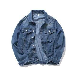 🇺🇸歐美Streetwear貼布洗水牛仔褸