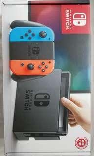 Nintendo switch 行貨99%新 跟mhxx