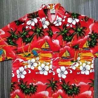Kemeja Pantai Pidoza Short Sleeve Hawaiian Shirt