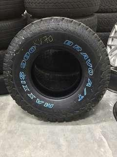 4x4 tayar maxxis at980 285/75/16 new