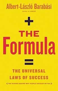 [Ebook] The Formula: The Universal Law of Success by Albert-Lazslo Barabasi