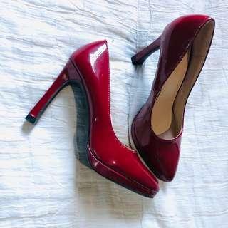 Parisian Red Shoes