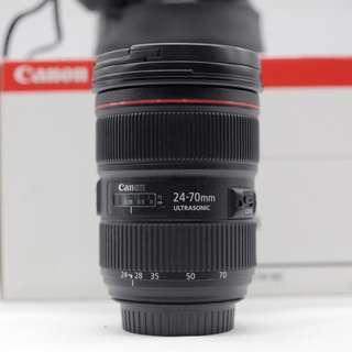 Used - Canon EF 24-70mm f2.8L II USM