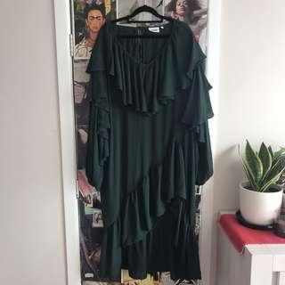 Weekday Ruffle Dress