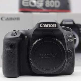 Used - Canon 80D DSLR Camera (body only)
