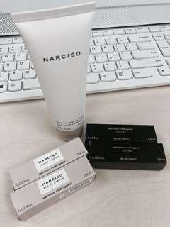 NARCISO scented body lotion & test purfum