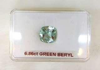 Green Beryl (6.86CT)