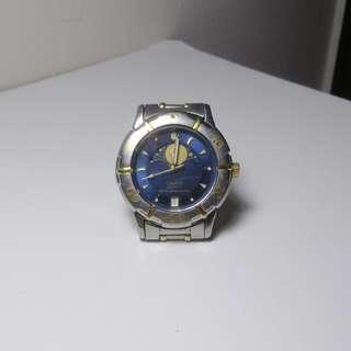 Casio Men's Quartz Moonphase Retro Watch