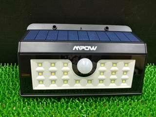 M Pow Motion Sensor Solar Light
