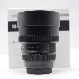 Used - Sigma 12-24mm F4 Art Lens for Canon