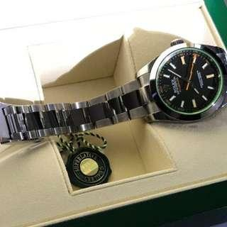 Rolex Milgauss 116400GV NEW October 2018