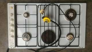 Cooker hob gas & electric