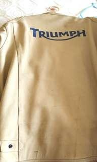TRIUMPH LIMITED EDITION LEATHER JACKET