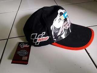 Topi MotoGP Official Merchandise (bordir)