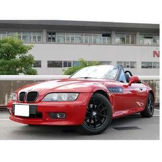 1996年 BMW Z3 全車原鈑件 里程保證 已認證 全車無待修 車況佳