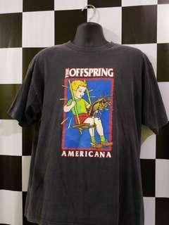 Vintage 90s The Offspiring americana Album tour shirt
