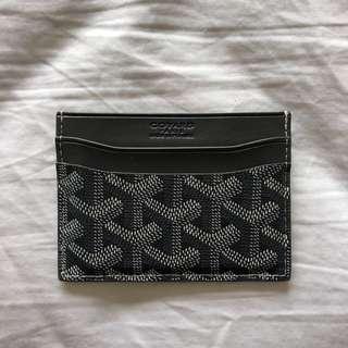 Goyard Grey Card Wallet