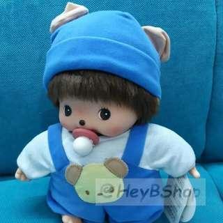Monchhichi Bebichhichi Romper Boy Doll 30cm 熊仔造型毛公仔** 包順豐站自取