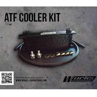 Works Engineering Universal ATF Oil Cooler Kit (MAIN DISTRIBUTOR)