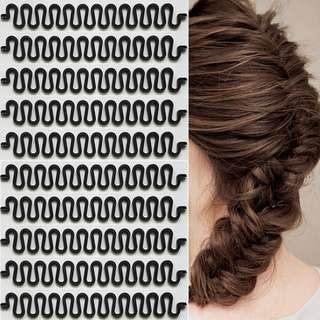 French Hair Braid Stencil/Tool