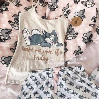 Thumper 兔細肩帶睡衣