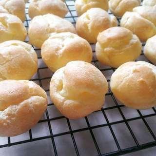Homemade Cream Puff