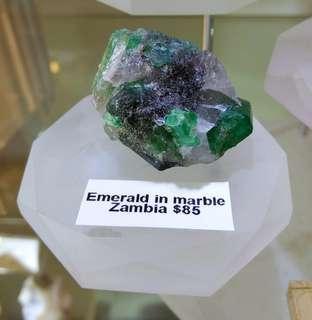 Emerald In Matrix (Zambia - 29g)