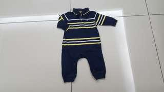 Tommy Hilfiger Baby Sleepsuit (3-6months)