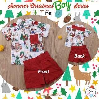 Christmas boy series