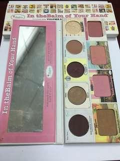 The Balm - In theBalm of Your Hand® Greatest Hits Volume 2 [ bronzer + highlight +blusher + eyeshadow ]