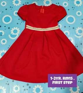 Girl Dress 1-2yrs