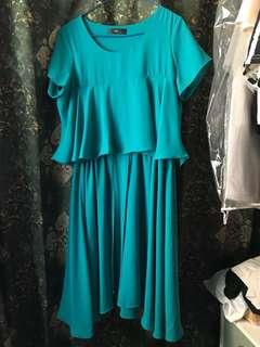 DF one piece long dress
