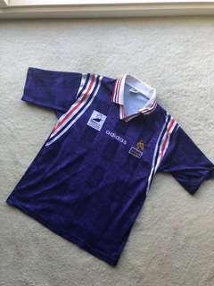 Vintage Adidas French Football Jersey