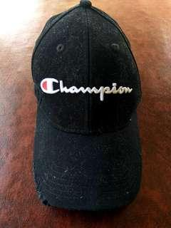Authentic Champion Cap Tattered