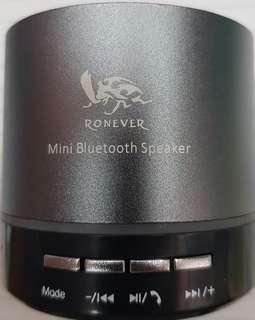 🚚 Ronever 藍牙喇叭,TF記憶卡,FM收音機,USB,LED 動態顯示燈,內建麥克風支援通話